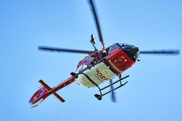 Verletzter Wanderer am Feldberg gerettet