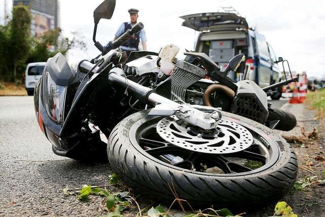 Zwei Motorradunfälle in Todtnau am Wochenende