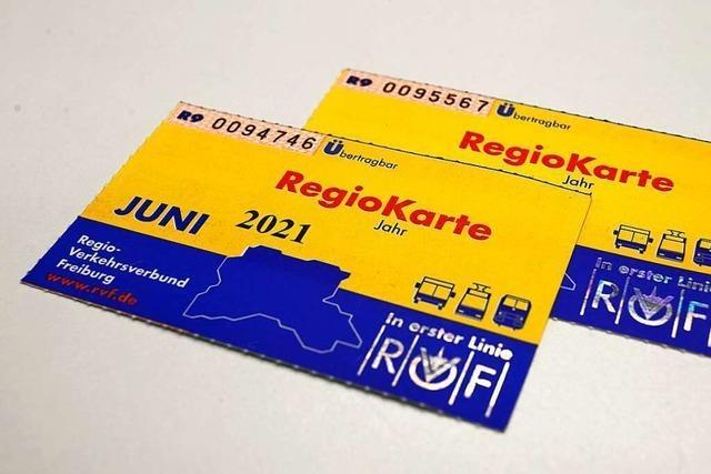 Regio-Karte wird teurer und kostet nächstes Jahr 66 Euro