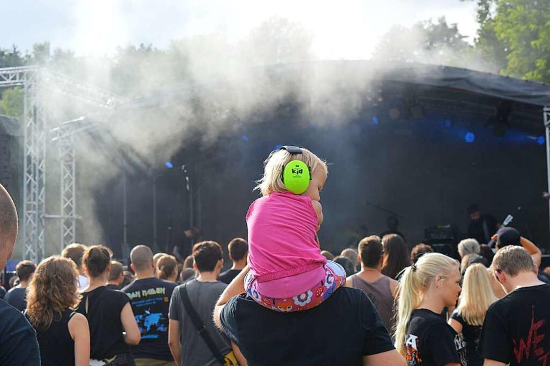 So schön voll kann das Heavy-Metal- Festival diesmal nicht mehr werden.  | Foto: Adrian Steineck