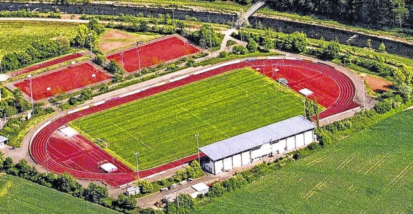Das Langensteinstadion in Tiengen soll...at Schauplatz eines Festivals werden.   | Foto: Herbst