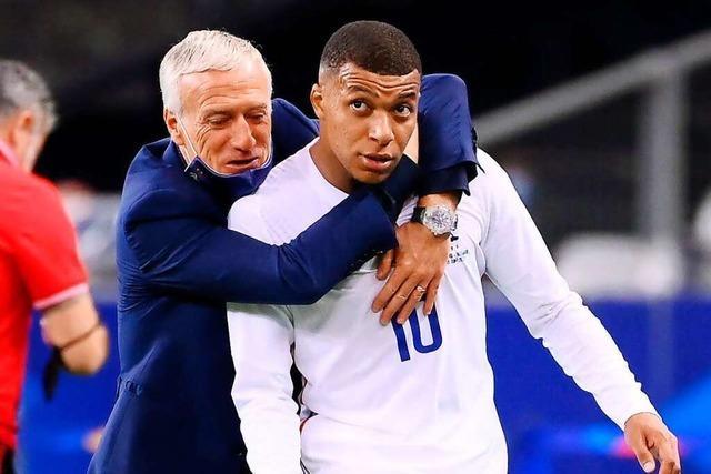 Frankreich-Trainer Deschamps muss kleine Spannungen glätten