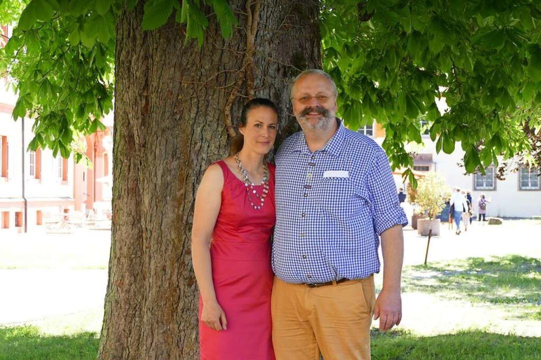 Franziska Tanner und Alexander Schwabe freuen sich auf die Zukunft.    Foto: Verena Pichler