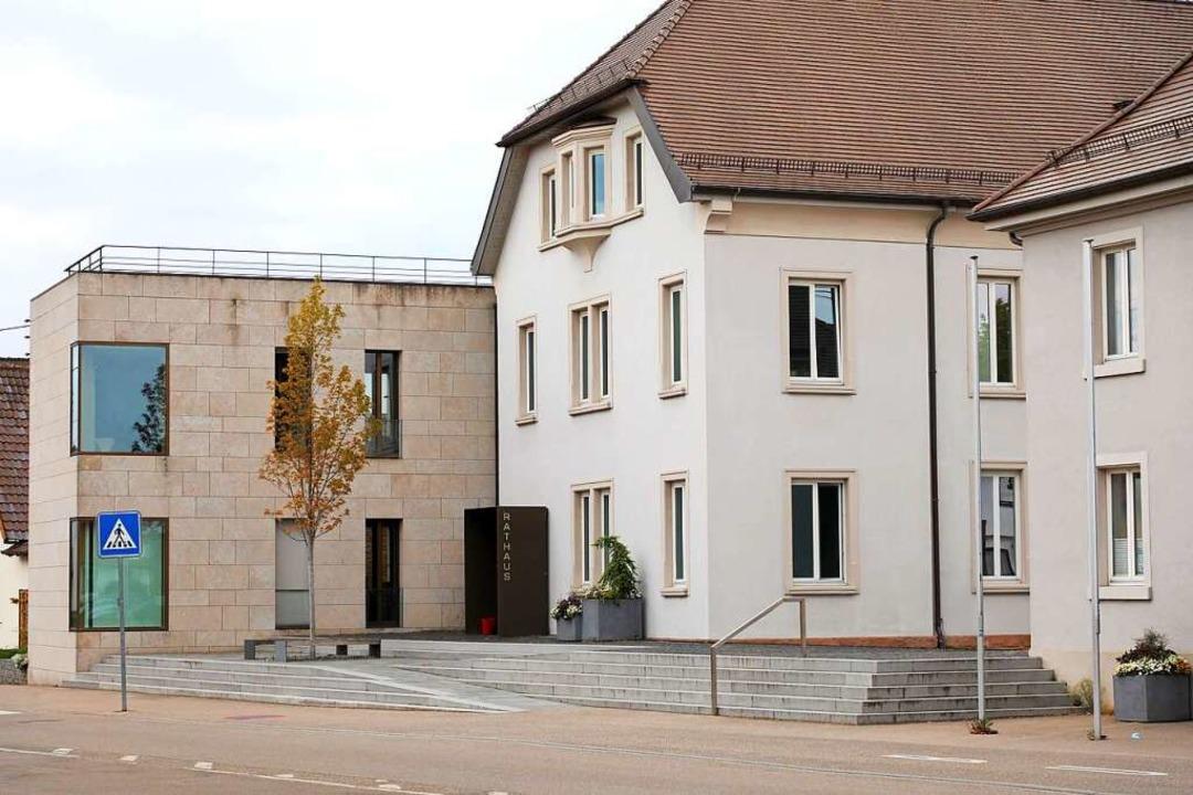 Das Hohberger Rathaus in Hofweier  | Foto: Christoph Breithaupt