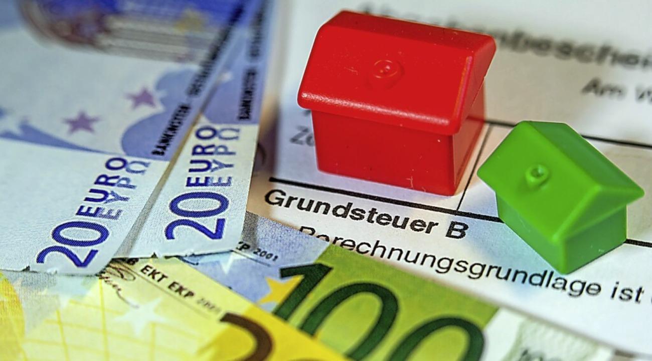 Die Arbeit des Gutachterausschusses wi...echnung der Grundsteuer wichtig sein.   | Foto: Jens Büttner (dpa)