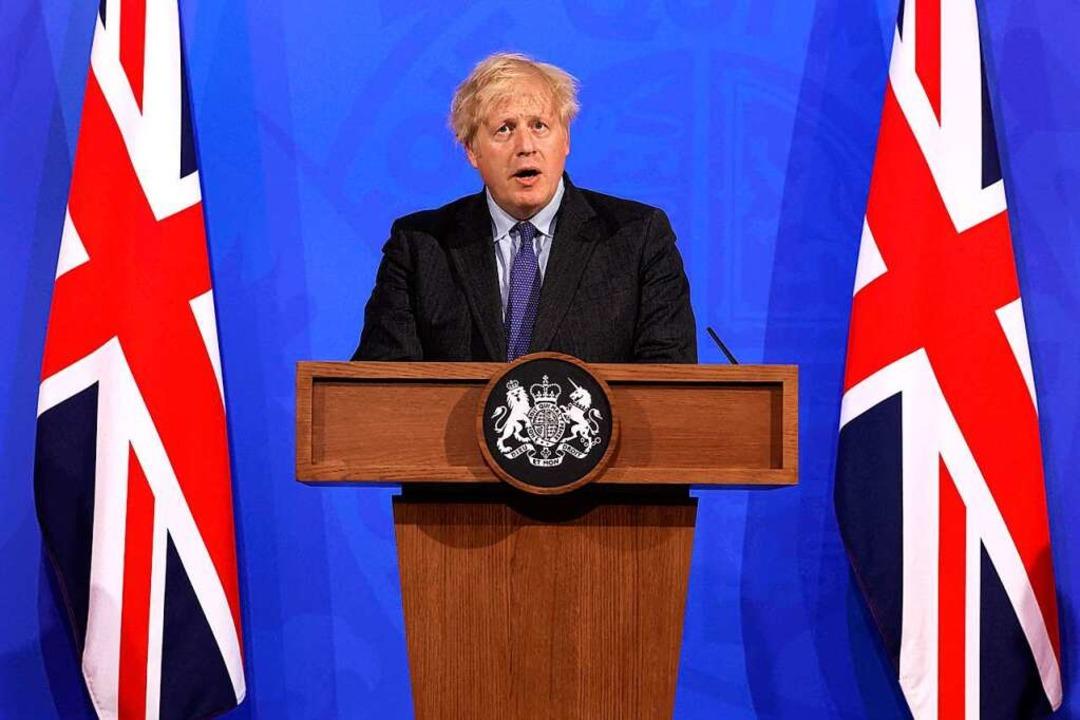 Boris Johnson  | Foto: JONATHAN BUCKMASTER (AFP)