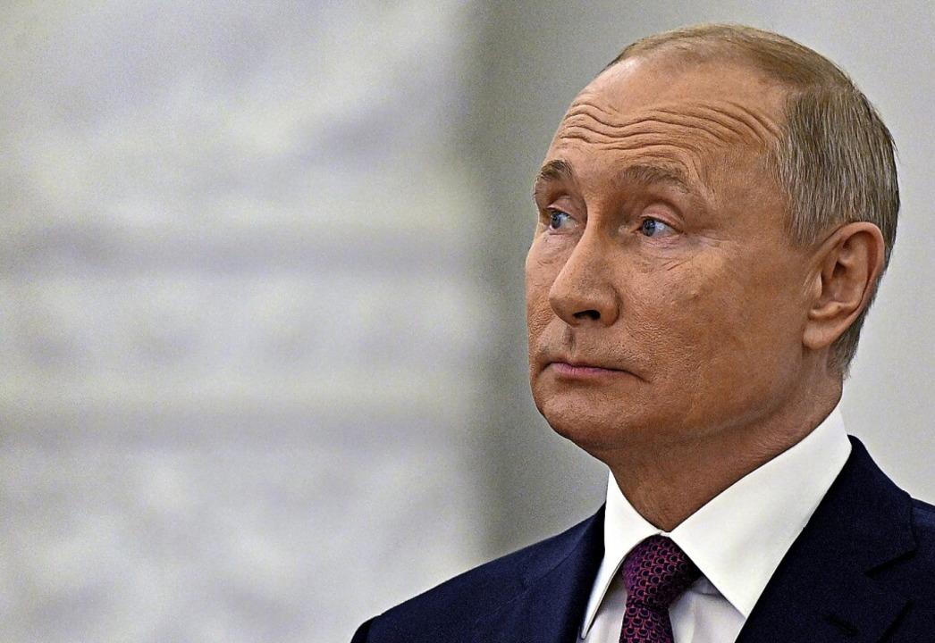 Wie vertrauenswürdig ist Wladimir Putin?  | Foto: Yevgeny Odinokov (dpa)