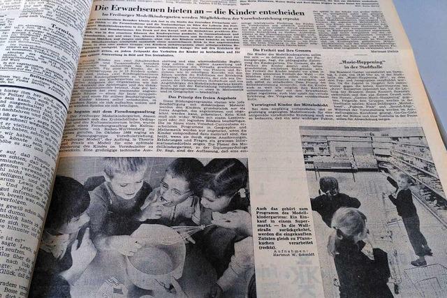 1971 hielt die Videoüberwachung Einzug in den Kindergarten