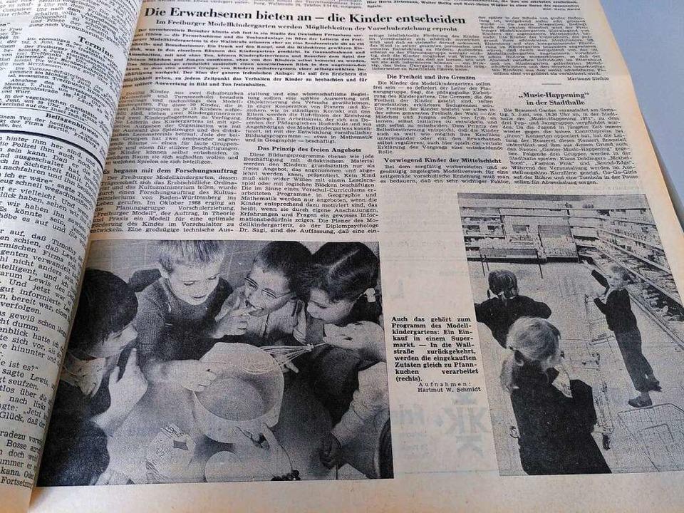 """Das """"Prinzip des freien Angebots... von Vorschulkindern gefördert werden.    Foto: Moritz Neufeld"""
