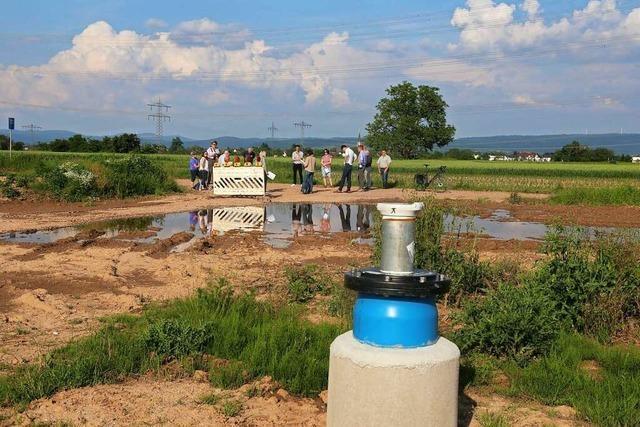 Neuer Brunnen in Kappel-Grafenhausen soll künftigen Bedarf abdecken