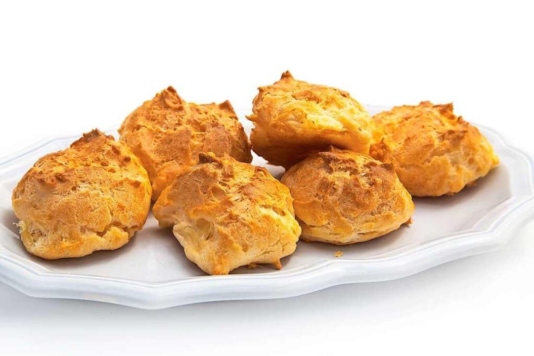 So können die Gougères aussehen.    Foto: L.Bouvier  (stock.adobe.com)