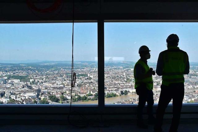 Das zweite Hochhaus der Roche in Basel ist ein Bau der Superlative