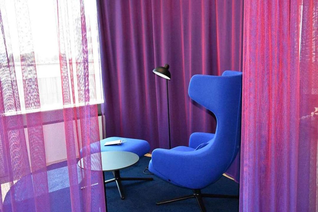 Wohnzimmeratmosphäre in der Arbeitswel...eitenden die Räume nach Bedarf wählen.  | Foto: Kathrin Ganter