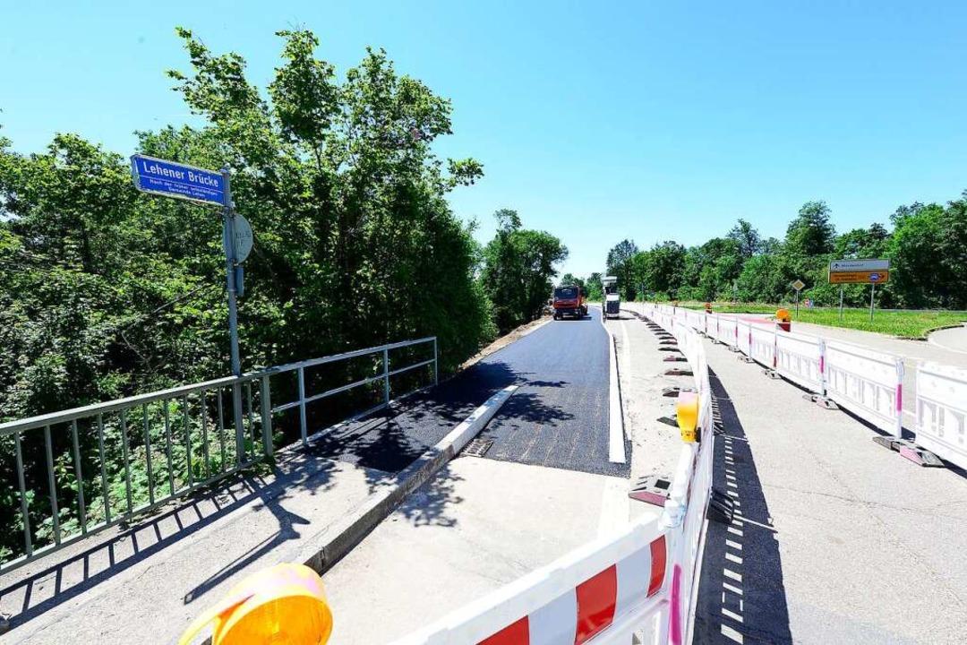 Ein neuer Fuß- und Radweg vom Lehener Brückle in Richtung Mundenhof  | Foto: Ingo Schneider