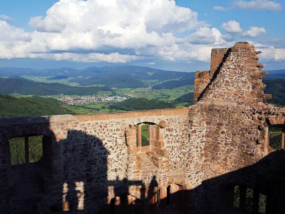 Die Hohengeroldseck ist ein beliebtes Ausflugsziel.     Foto: Beate Zehnle-Lehmann