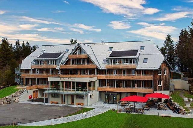 Das Berghaus auf dem Schauinsland ist fertig und empfängt nun auch Gäste