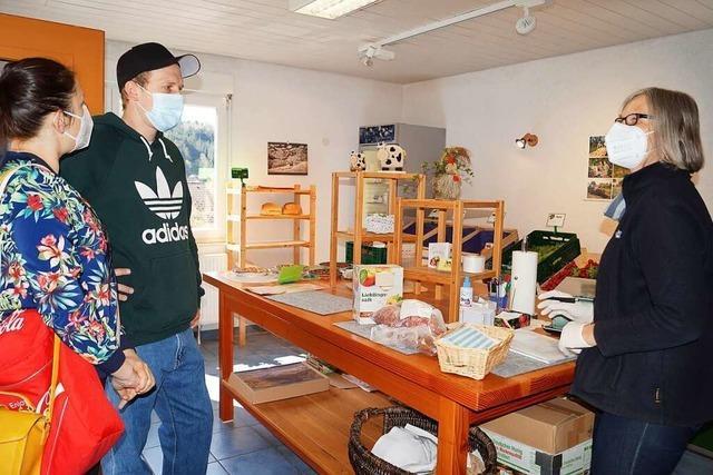 Der Hofladen Lindemer in Marzell hat auch ein Tante-Emma-Sortiment