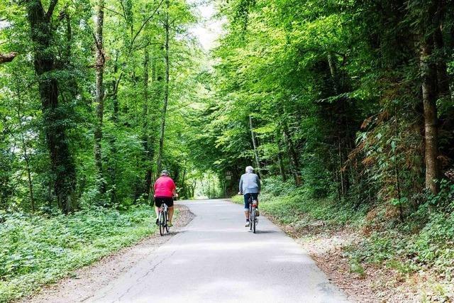 Radtour durch die Stadt Waldkirch von Gasthaus zu Gasthaus