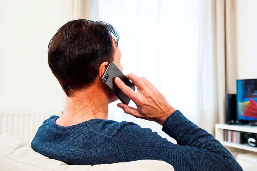 Der Telefonbetrüger behauptete Mitarbe...he ist bisher niemand hereingefallen.   | Foto: Christin Klose
