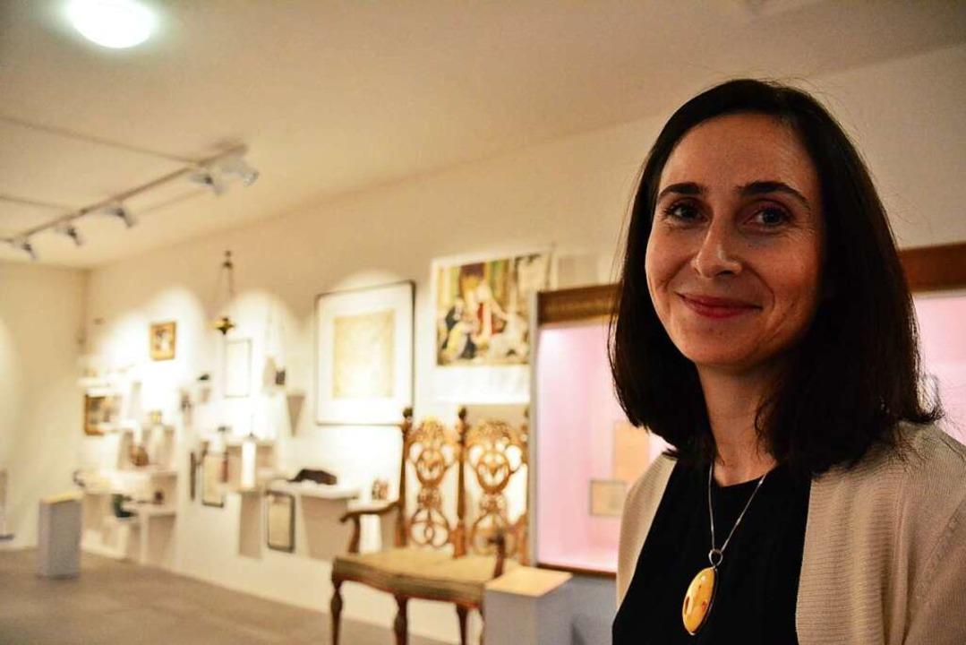 Naomi Lubrich, Direktorin des Basler J...50-jährigen Jubiläum des Museums 2016.    Foto: Annette Mahro
