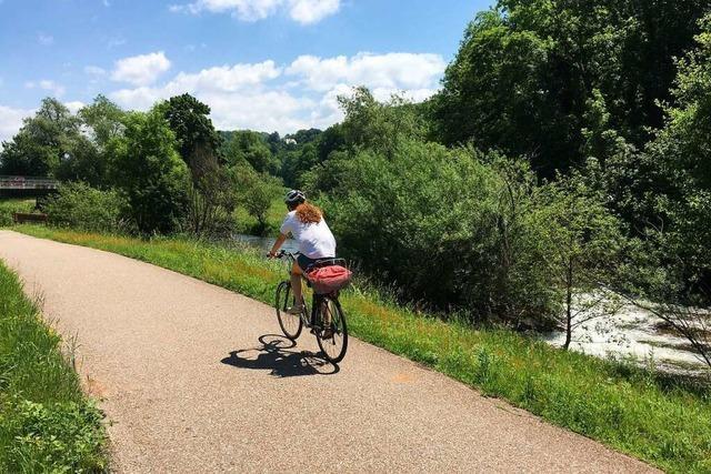 Die Täler von Rhein, Wiese und Kander eignen sich hervorragend für Radtouren