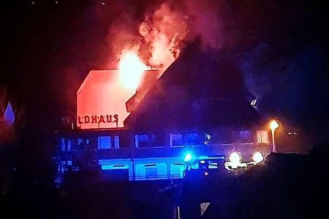 Angeklagter zum Brand in Asylunterkunft Kollnau ist