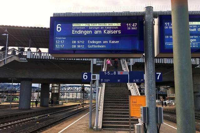 S-Bahn blieb zwischen Nimburg und Bahlingen liegen