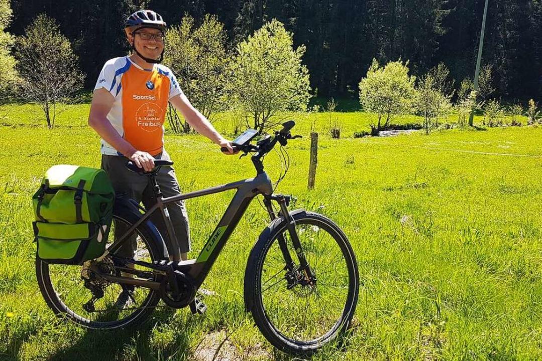 Einer von 359: Frank Greschel aus Nied...Bike im Sommer nach Österreich fahren.    Foto: Frank Greschel