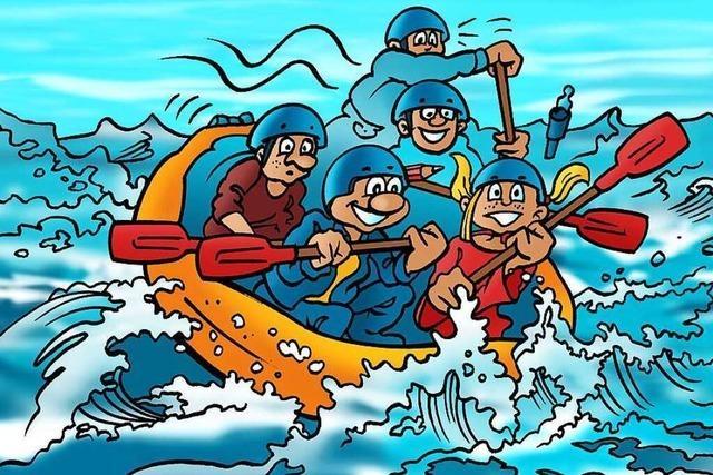 Eine gefährliche Bootstour
