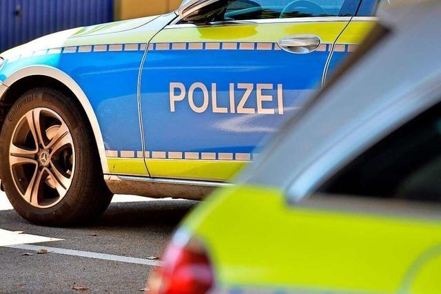 Fahrradfahrer stürzt bei Simonswald in Wilde Gutach