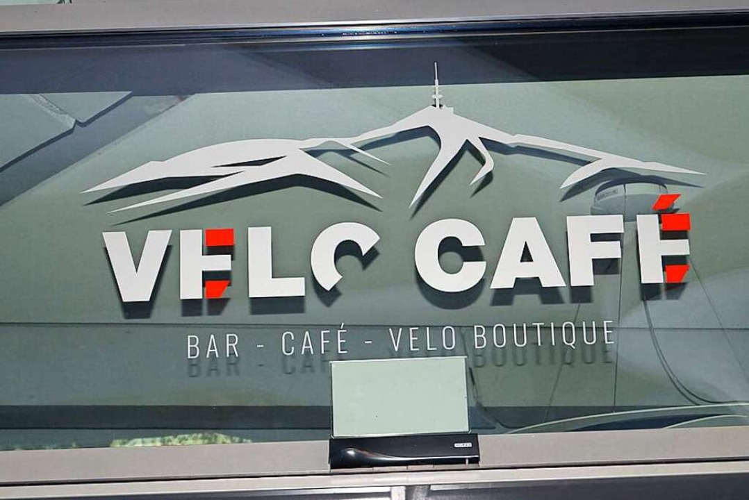 "Seit Anfang Mai ist Badenweilers Kurha...8222;Velo Café"" wieder geöffnet.    Foto: Silke Hartenstein"
