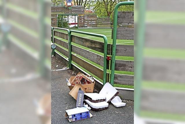 Illegaler Müllplatz