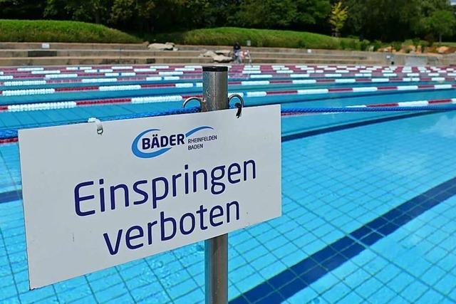 Das erste heiße Wochenende war ein Stresstest fürs Rheinfelder Freibad