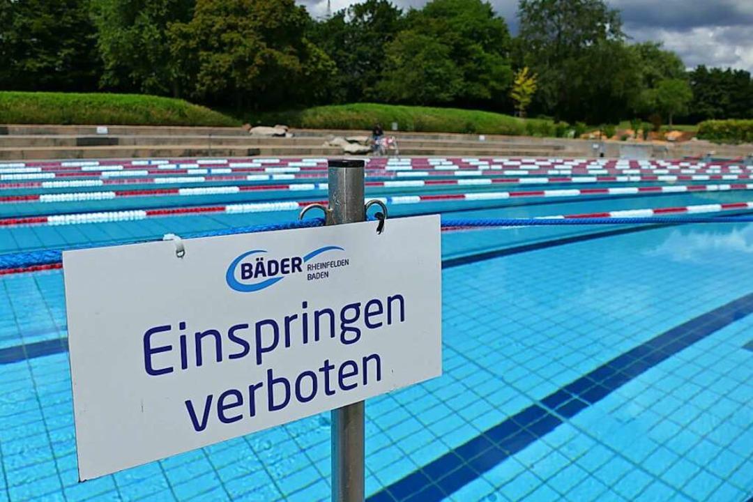 Das Freibad in Rheinfelden (Symbolfoto).  | Foto: Elena Borchers