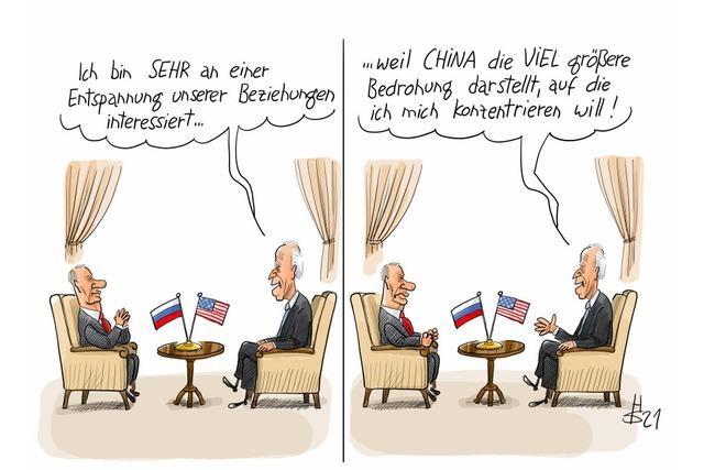 Biden trifft Putin: Joe, verpatze es nicht!