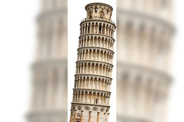 Der nicht mehr ganz so Schiefe Turm von Pisa