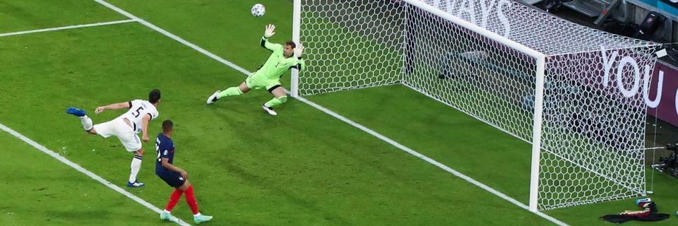 Deutschland unterliegt Frankreich mit 0:1