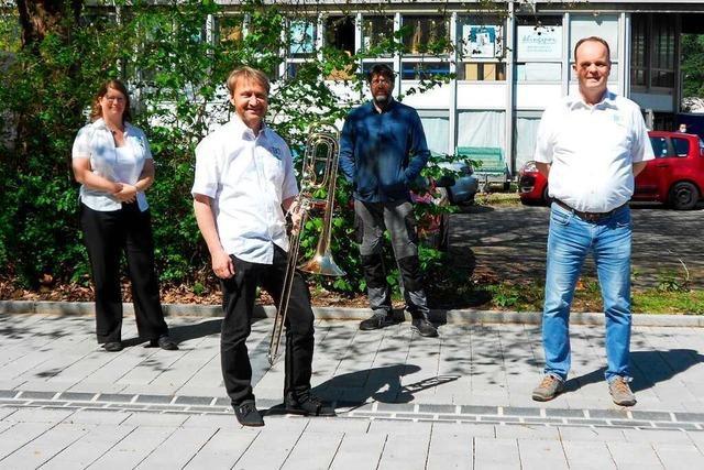 Durch Crowdfundung kommt das Freiburger Blasorchester zu einer neuen Bassposaune