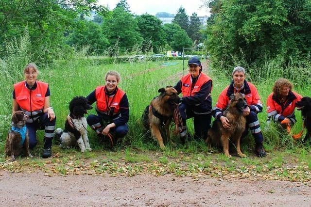 Immer mehr zu tun für die Rettungshundestaffel Wiesental