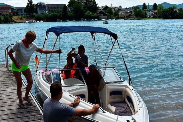 Auch beim Wassersport auf dem Hochrhein gelten die Corona-Regeln
