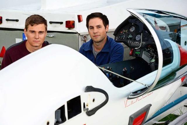 Zwei Freiburger Segelflieger schafften am selben Tag rund 1000 Kilometer