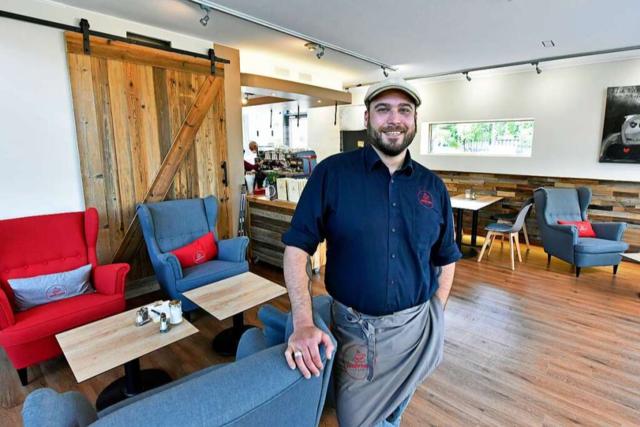 Ein Gastro-Neueinsteiger bringt das Café Ambrosia auf Vordermann