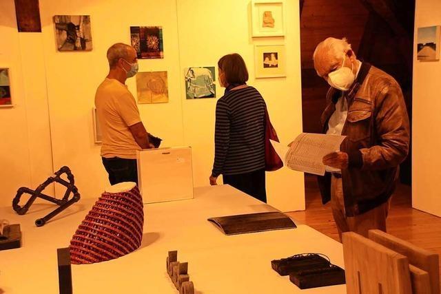 Jubiläumsausstellung beim Kunstverein March mit Auktion