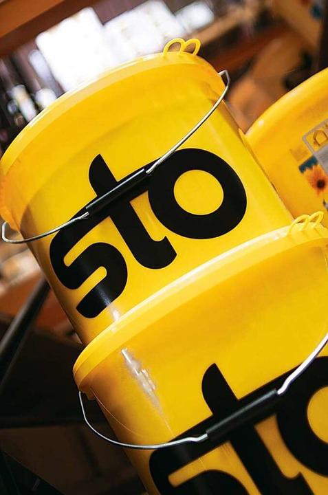 Eine der bekanntesten südbadischen Marken: Sto  | Foto: Sto SE & Co. KGaA