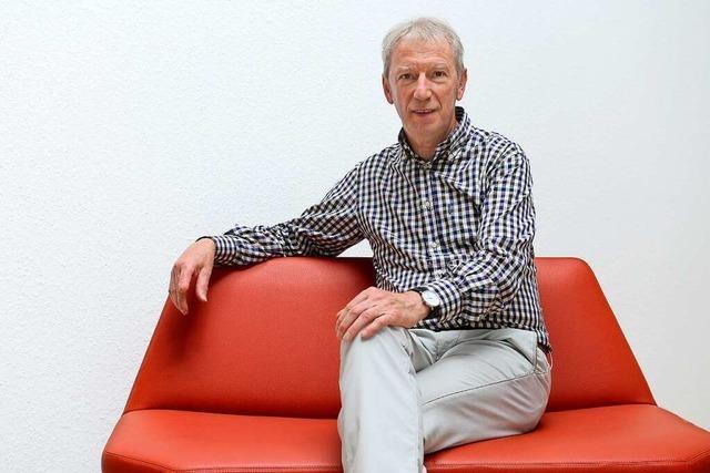Nach 30 Jahren bei der Evangelischen Sozialstation geht Johannes Sackmann in den Ruhestand