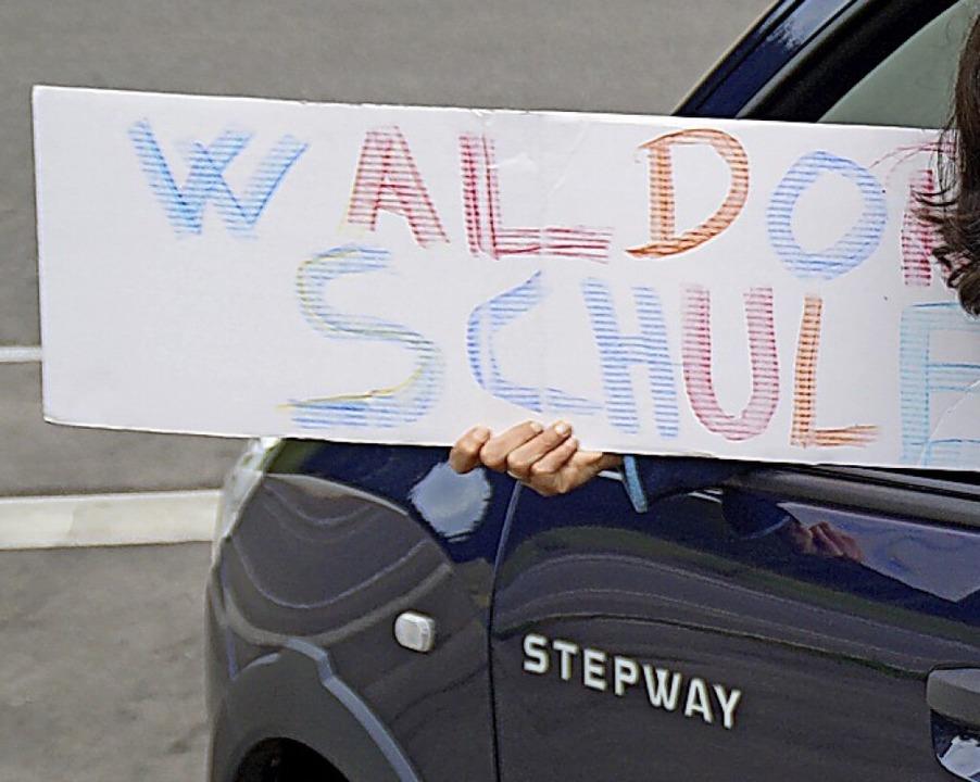 Noch müssen bis zur nächsten Waldorfsc...Strecken mit dem Auto gefahren werden.    Foto: privat
