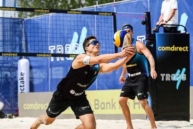 Sven Winter und Alexander Walkenhorst spielen beim Continental Cup