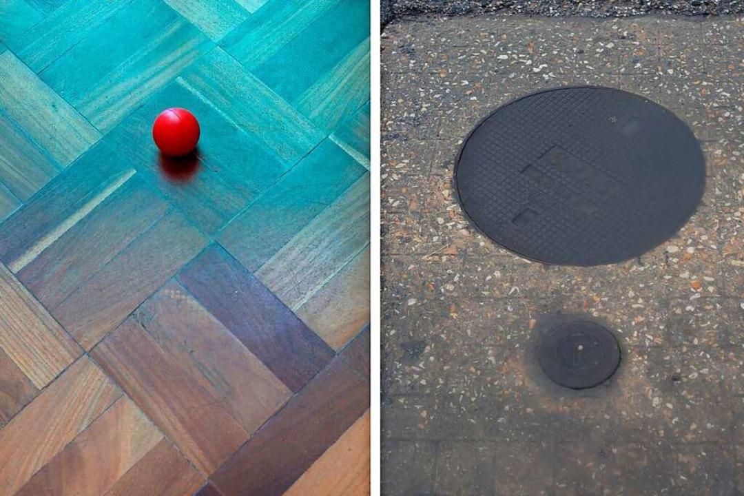 "Fotografien aus der Ausstellung ""Temporary Setup 1–6""  | Foto: Stefanie Höll"