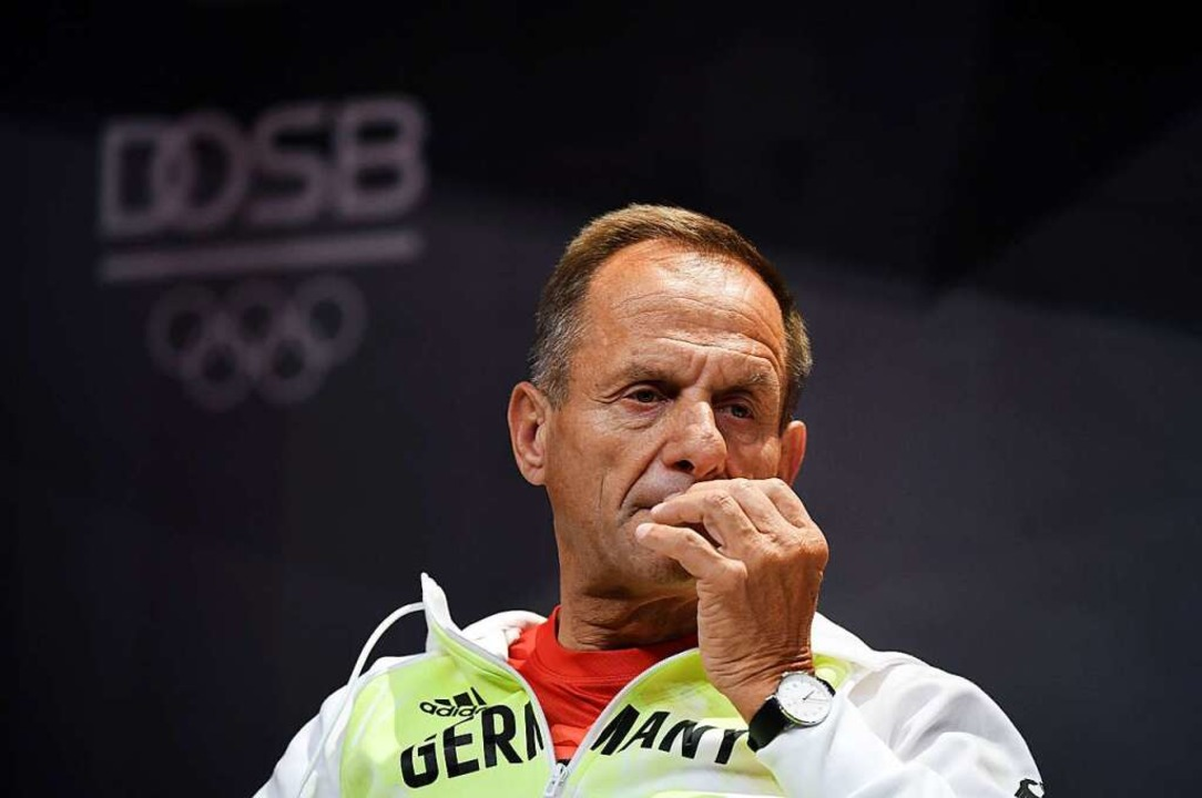 Alfons Hörmann: Hätte er sich manchmal mehr auf die Zunge beißen sollen?  | Foto: Ina Fassbender (dpa)