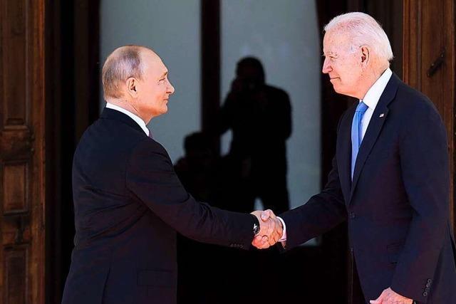 Putin und Biden vereinbaren Rückkehr der Botschafter